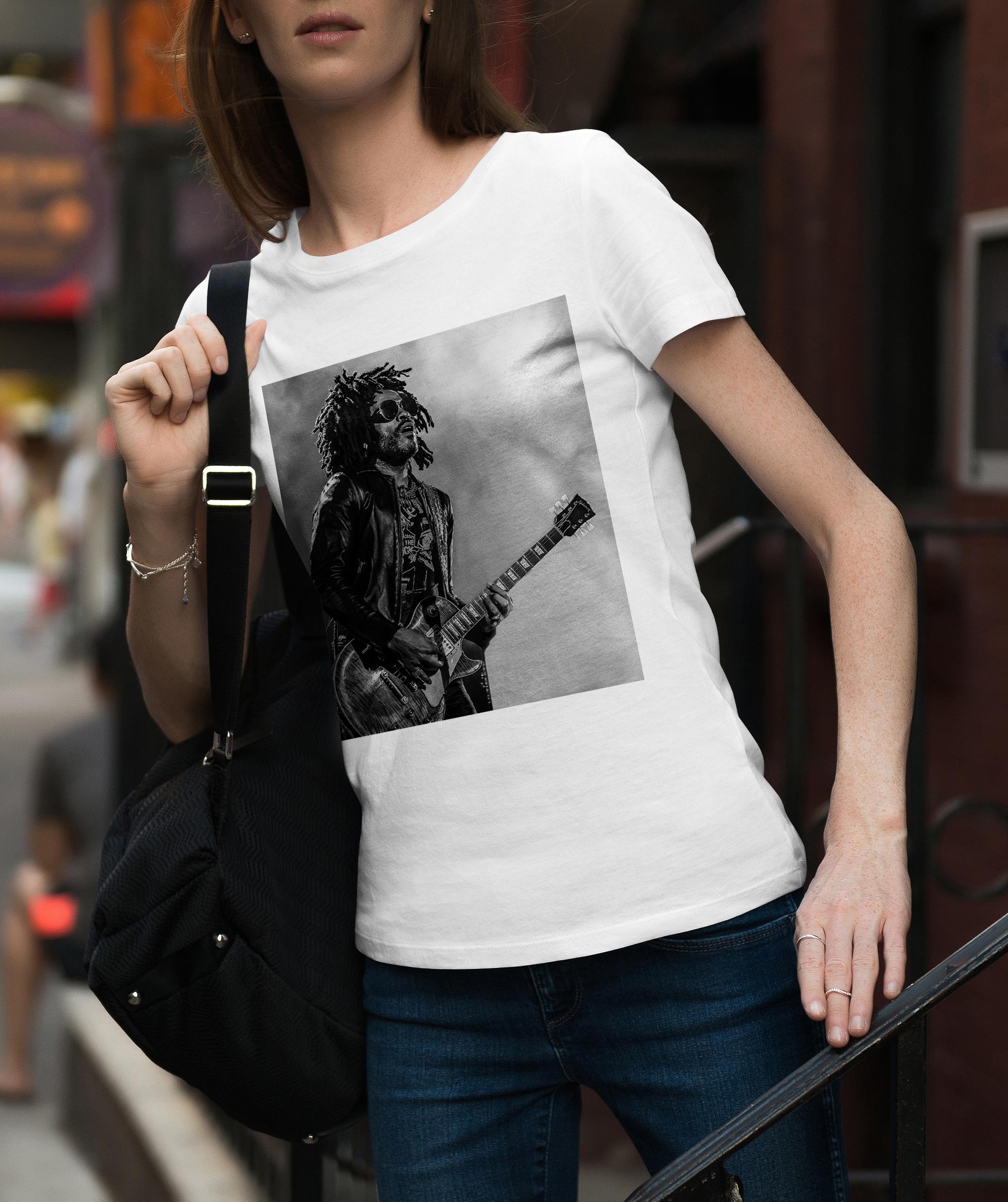 womens lenny kravitz t-shirt